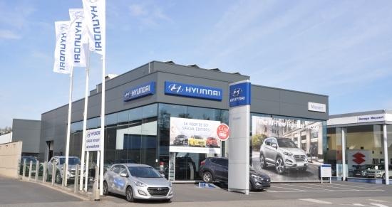 Hyundai garage moyaert pr sentation for Garage hyundai bayonne