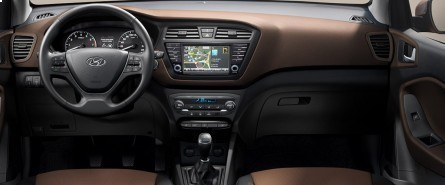 Hyundai pip new i20 for Interieur hyundai i20